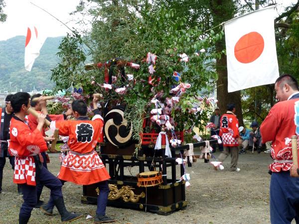 Portable shrine -  Mishima Shrine in Nijō